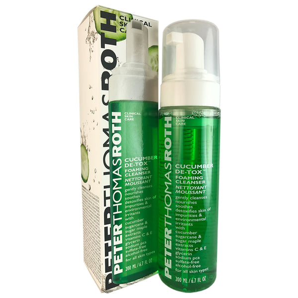 Peter Thomas Roth Cucumber De-tox Foaming Face Cleanser 6.7 oz