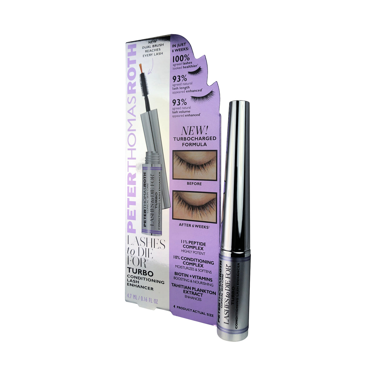PTR Lashes to Die For Turbo Conditioning Lash Enhancer 0.16 oz