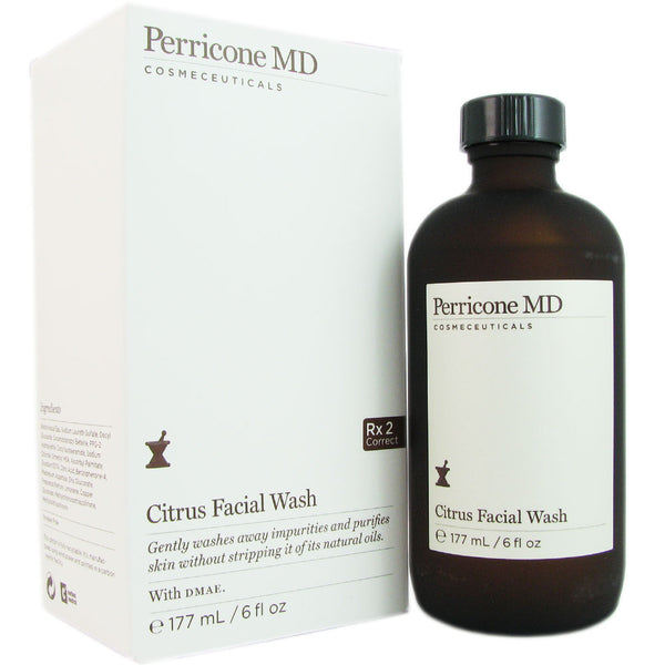 Perricone MD Citrus Facial Wash 6 oz Gentle on Skin Washes Away Impurities