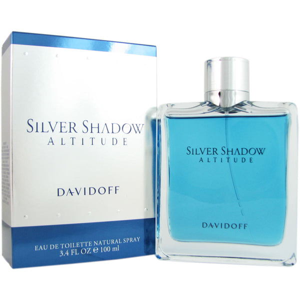 Silver Shadow Altitude for Men by Davidoff 3.4 oz Eau de Toilette Spray