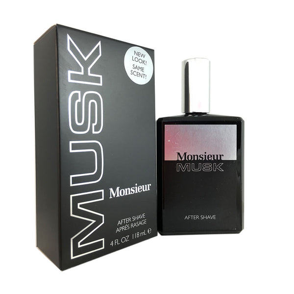 Monsieur Musk for Men by Dana 4 oz After Shave