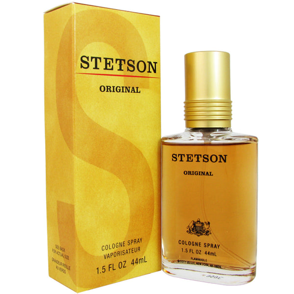 Stetson for Men by Coty 1.5 oz 44 ml Eau de Cologne Spray