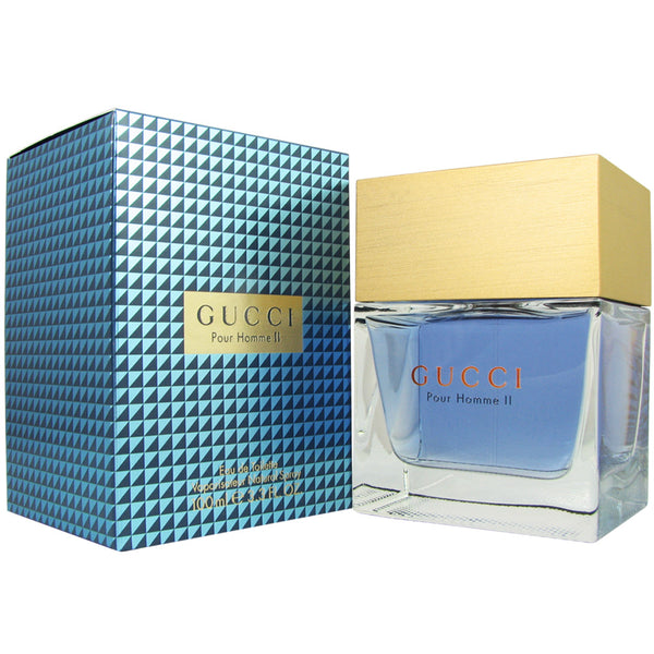 Gucci for Men II by Gucci 3.3 oz 100 ml Eau de Toilette Spray
