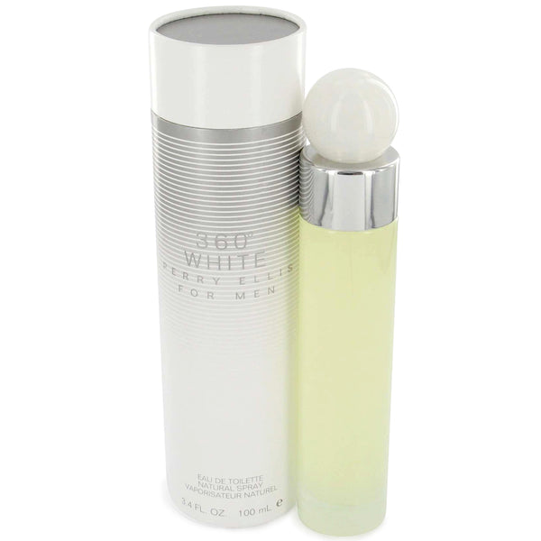 360 White for Men by Perry Ellis 3.4 oz Eau de Toilette Spray