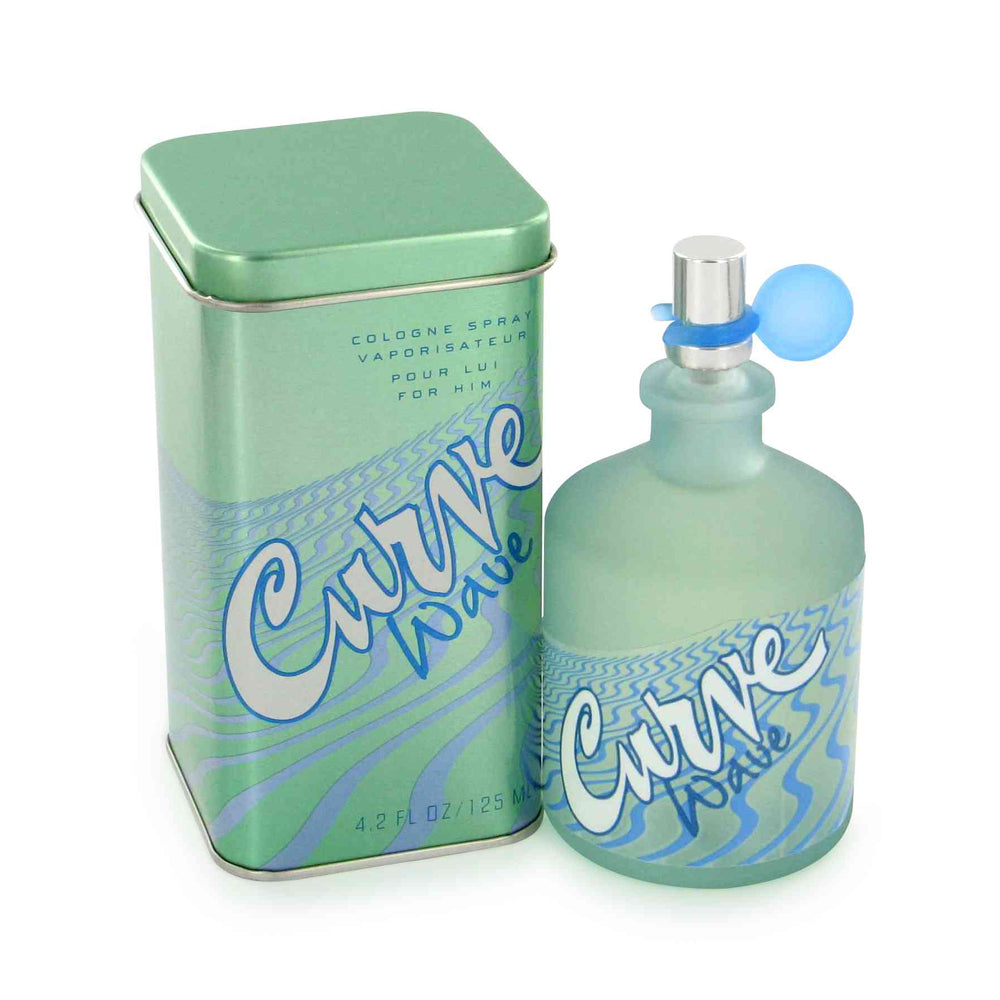 Curve Wave for Men by Liz Claiborne 4.2 oz Eau de Cologne Spray