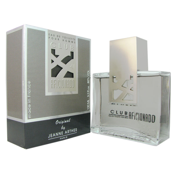 Club Aficionado For Men by Jeanne Arthes 3.3 oz Eau de Toilette Spray