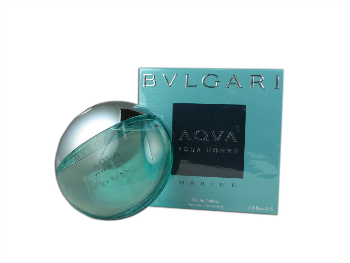 Bvlgari Aqva Marine for Men 3.4 oz Eau de Toilette Spray