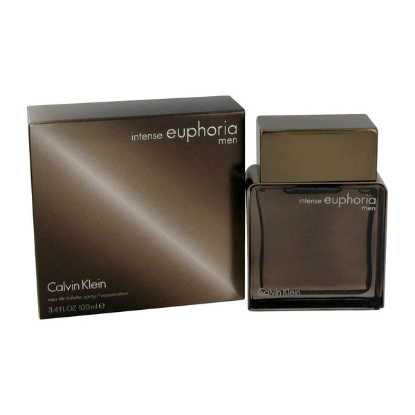Euphoria for Men Intense by Calvin Klein 3.4 oz Eau de Toilette Spray