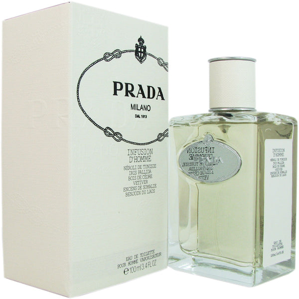 Prada Milano Infusion D'Homme Men 3.4 oz Eau de Toilette Spray