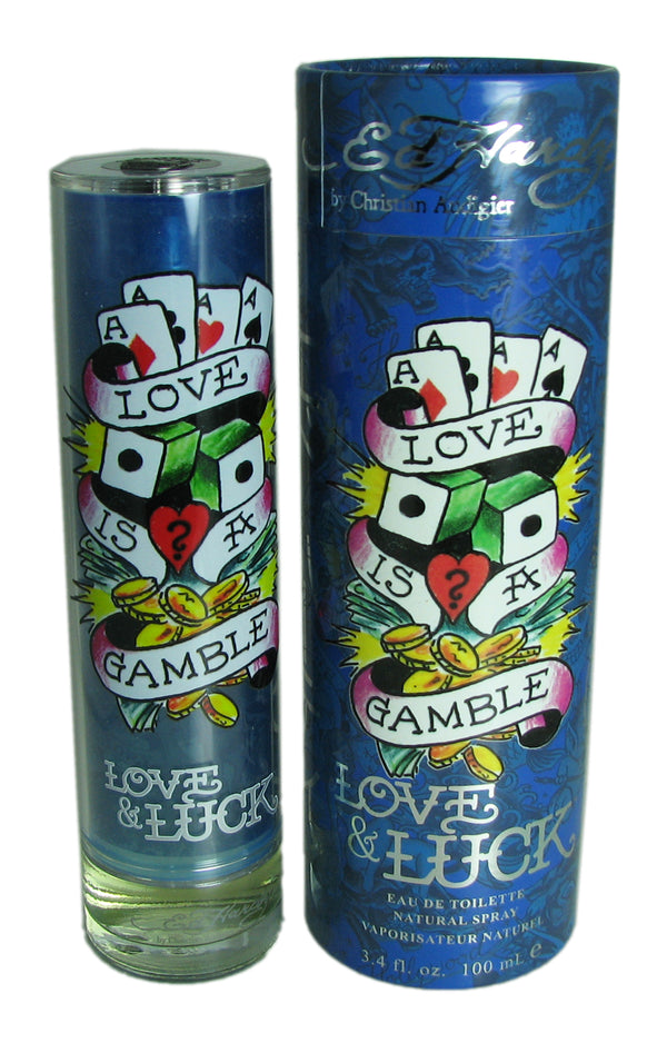 Ed Hardy Love & Luck for Men 3.4 oz Eau de Toilette Spray