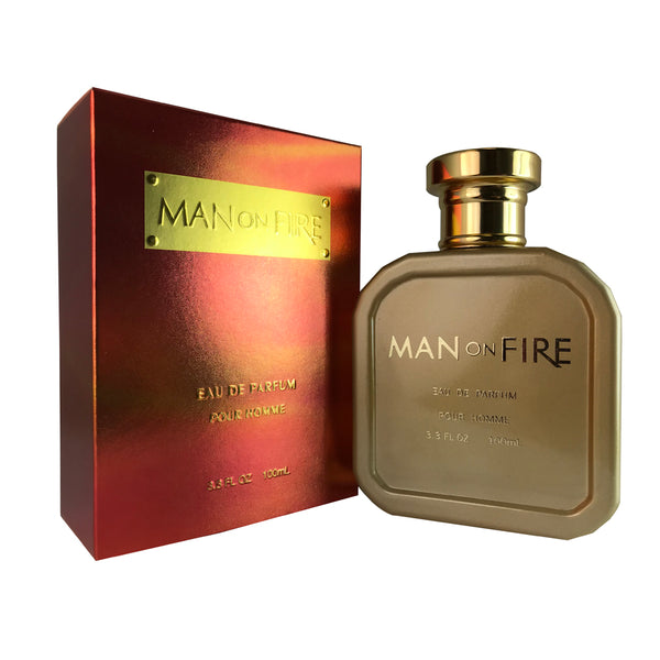Man On Fire Pour Homme By Yzy 3.3 oz Eau De Parfum Spray