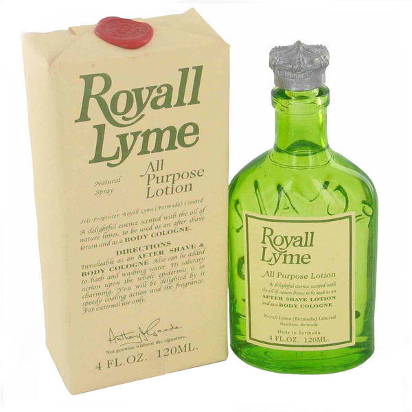 Royall Lyme by Royall Fragrances 4 oz All Purpose Lotion