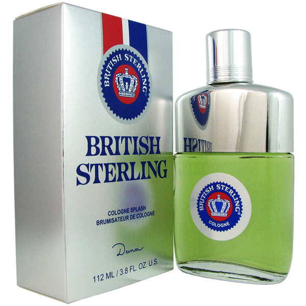 British Sterling for Men by Dana 3.8 oz Eau de Cologne Splash