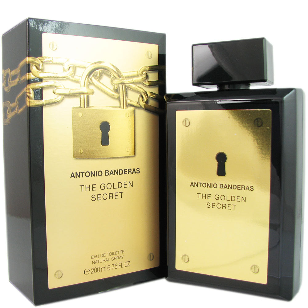 The Golden Secret for Men by Antonio Banderas 6.75 oz Eau De Toilette Spray