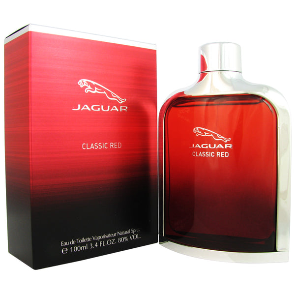 Jaguar Red for Men 3.4oz Eau de Toilette Spray