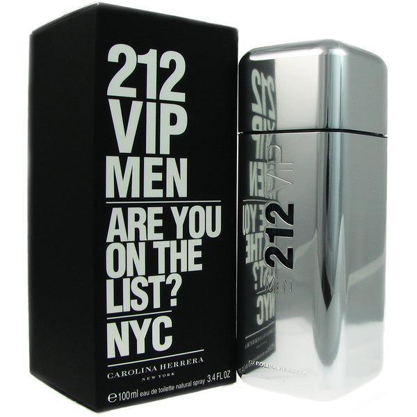 212 VIP for Men by Carolina Herrera 3.4 oz Eau de Toilette Spray