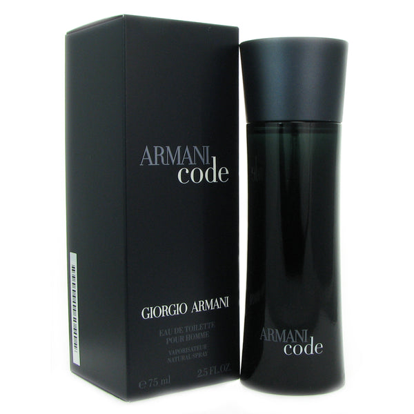 Armani Code Men by Armani 2.5 oz Eau de Toilette Spray