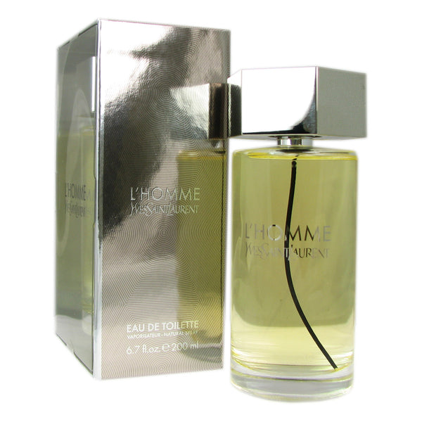 L'Homme for Men by Yves Saint Laurent 6.7 oz Eau de Toilette Natural Spray