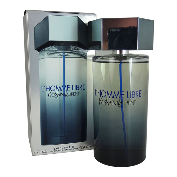 L'Homme Libre for Men by Yves Saint Laurent 6.7 oz Eau de Toilette Natural Spray
