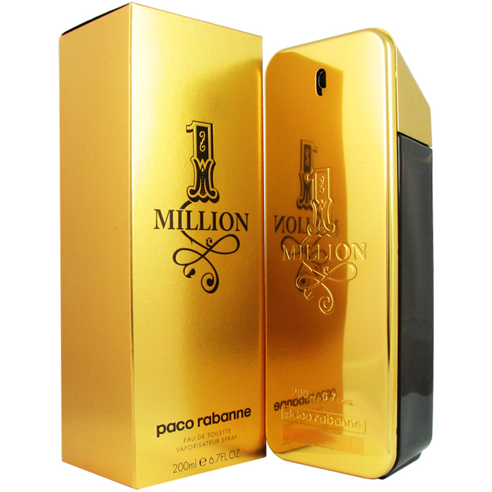 1 Million for Men by Paco Rabanne 6.7 oz Eau de Toilette Spray