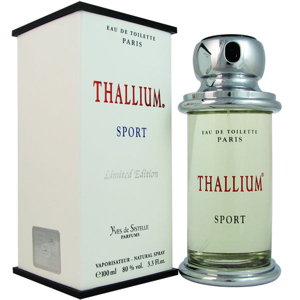 Thallium Sport LTD Men by Yves De Sistelle 3.4oz Eau de Toilette Spray
