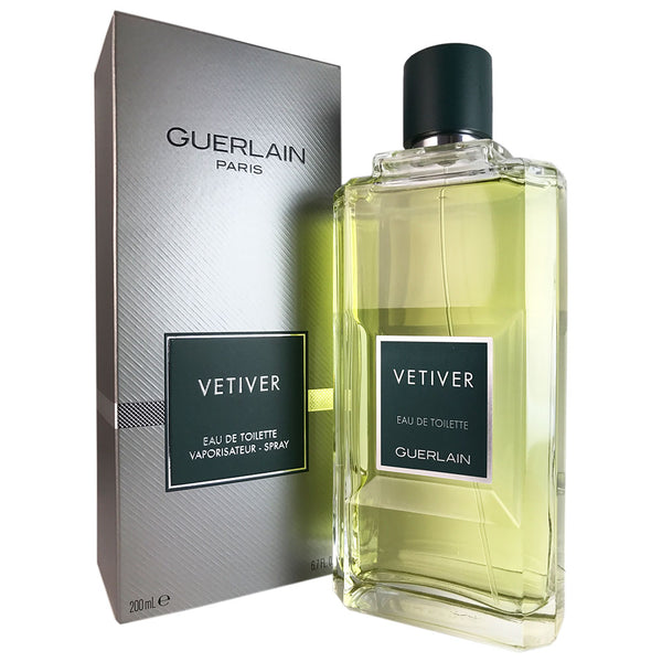 Vetiver for Men by Guerlain 6.8 oz Eau de Toilette Spray