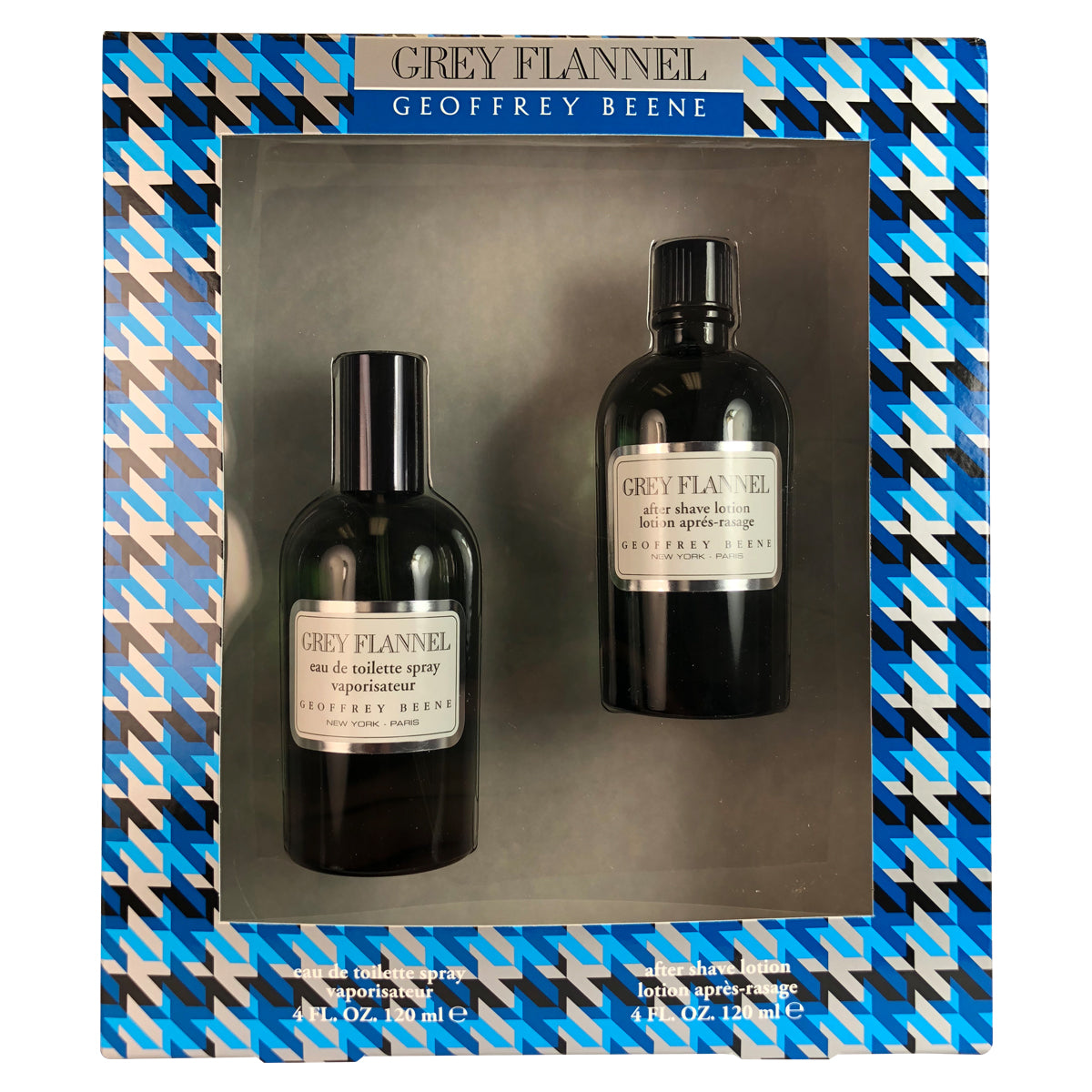 Grey Flannel for Men 2 PC Set by Geoffrey Beene 4 oz Eau de Toilette Spray