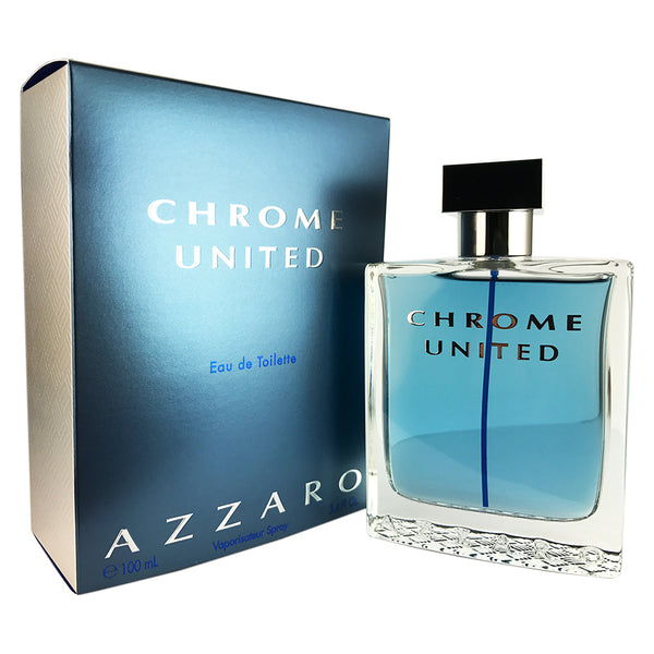 Azzaro Chrome United For Men by Azzaro 3.4 oz Eau De Toilette Spray