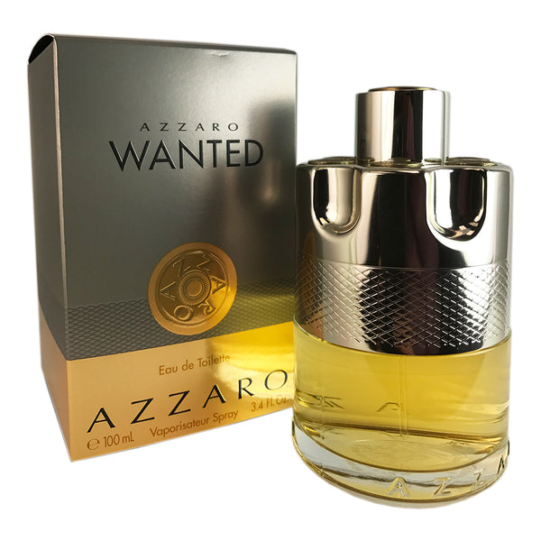 Azzaro Wanted For Men by Azzaro 3.4 oz Eau De Toilette Spray