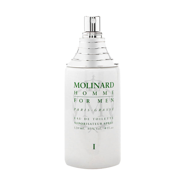 Molinard Homme I For Men by Molinard 4.0 oz Eau de Toilette Tester Unboxed