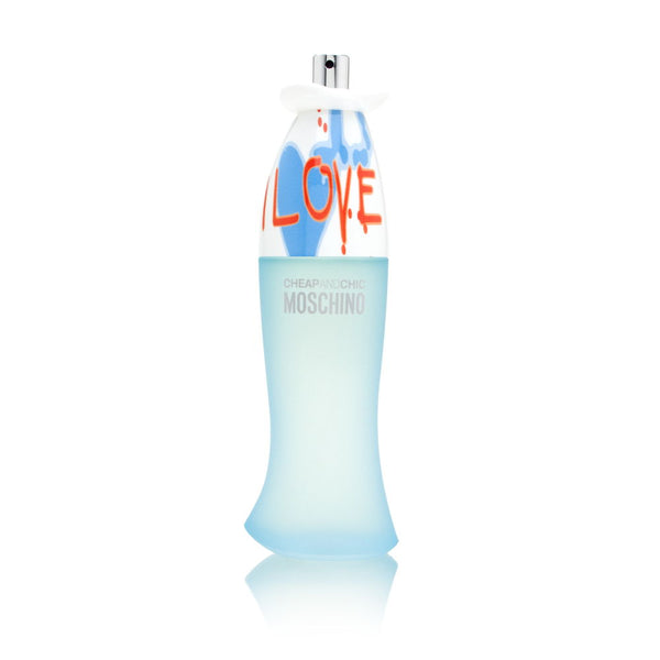 I Love Love Cheap and Chic by Moschino for Women 3.4 oz Eau de Toilette Spray (Tester no cap)