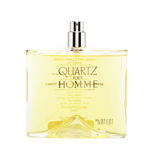 Quartz Pour Homme by Molyneux 3.3 oz Eau de Toilette Spray (Tester no Cap)