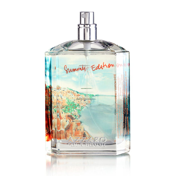 Azzaro Pour Homme Summer Edition by Loris Azzaro 3.4 oz Eau de Toilette Spray (Tester no Cap)