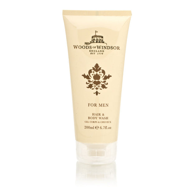 Woods of Windsor for Men 6.7 oz Hair & Body Wash