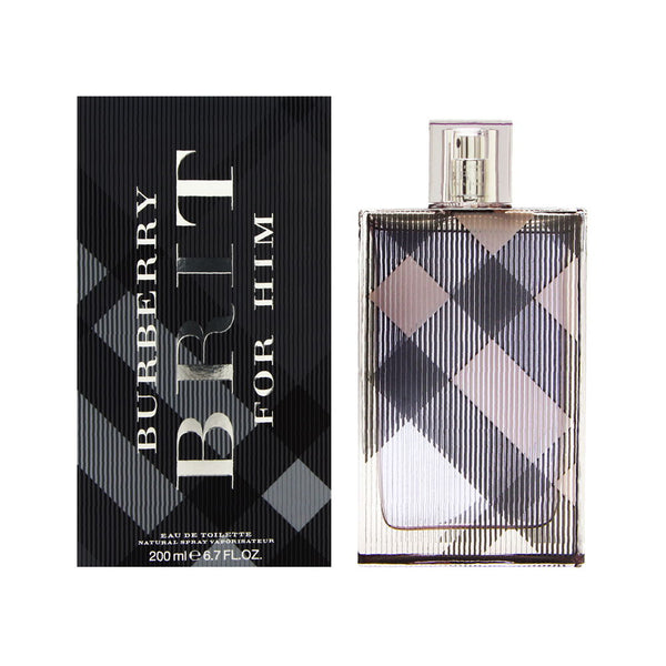 Burberry Brit by Burberry for Men 6.7 oz Eau de Toilette Spray