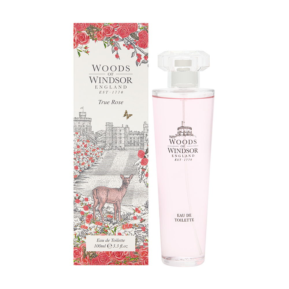 True Rose by Woods of Windsor 3.3 oz Eau de Toilette Spray