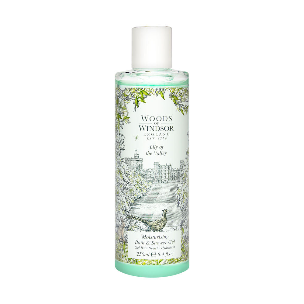 Lily of the Valley by Woods of Windsor 8.4 oz Bath & Shower Gel