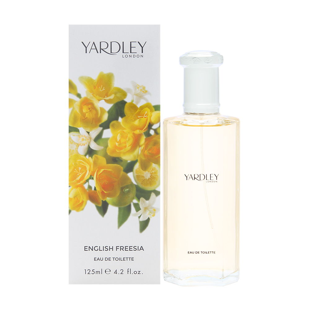 Yardley of London English Freesia 3.3 oz Eau de Toilette Spray