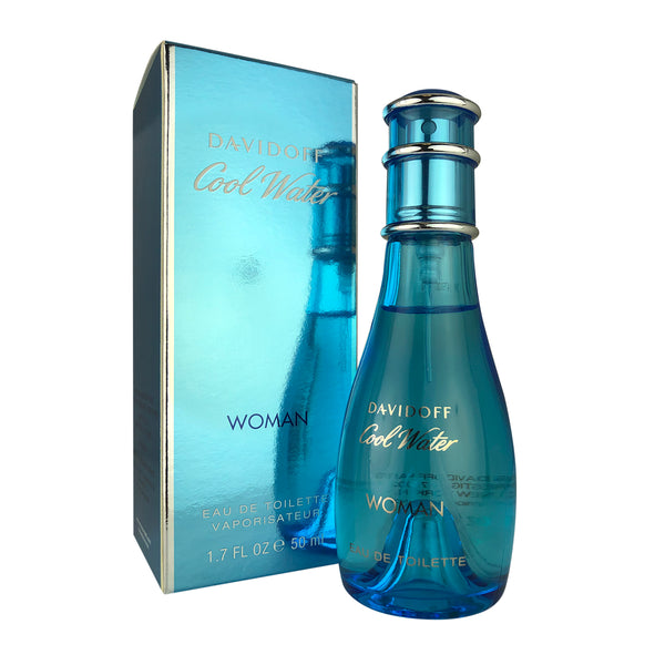 Cool Water Women by Davidoff 1.7 oz Eau de Toilette Spray
