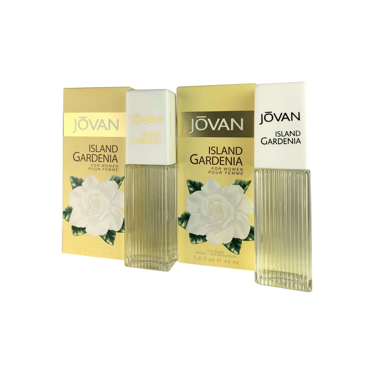Jovan Island Gardenia Women EDC Spr 1.5 oz-TWO