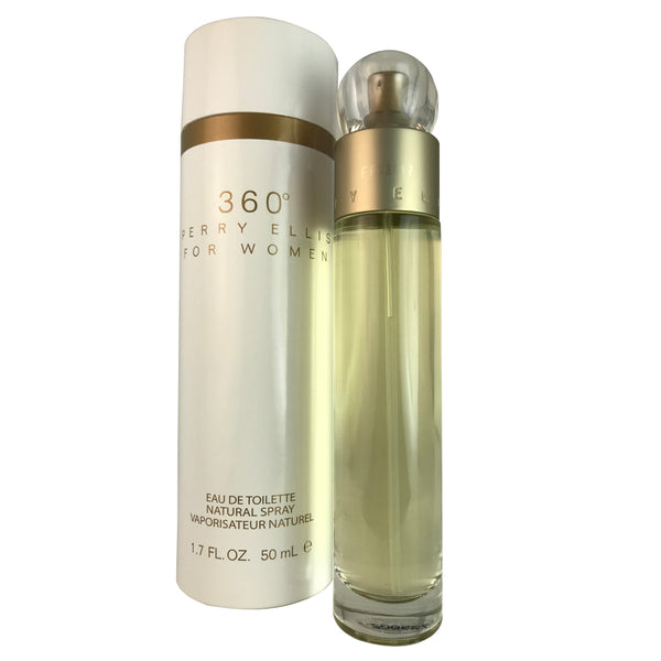 360 For Women By Perry Ellis 1.7 oz Eau De Toilette Spray