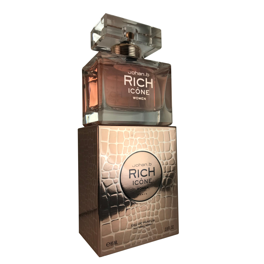 Rich Icone For Women By Johan B. 2.8 oz Eau De Parfum Spray