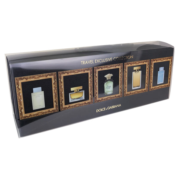 Miniature Dolce & Gabbana 5 Piece Perfume Set Travel Exclusive Collection For Women