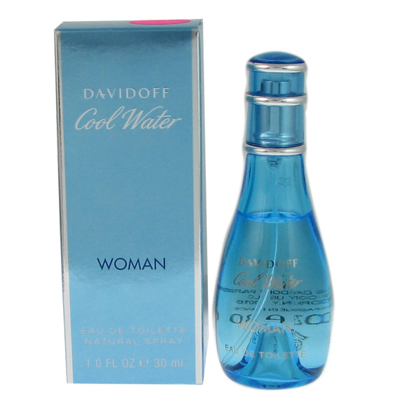 Cool Water for Women by Davidoff 1.0 oz Eau de Toilette Spray