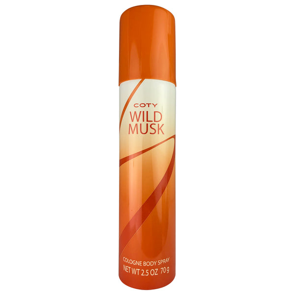 Coty Wild Musk Women Col Body Spr 2.5 oz