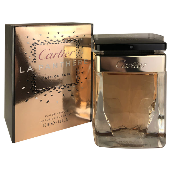 Cartier La Panthere Edition Soir For Women 1.6 oz Eau De Parfum Spray