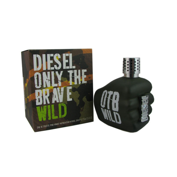 Diesel Only The Brave Wild For Men 2.5 oz Eau de Toilette Spray