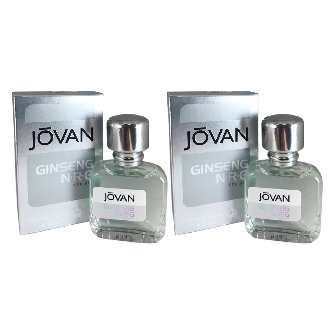 Jovan Ginseng N.R.G Men 1oz Cologne Spr-TWO