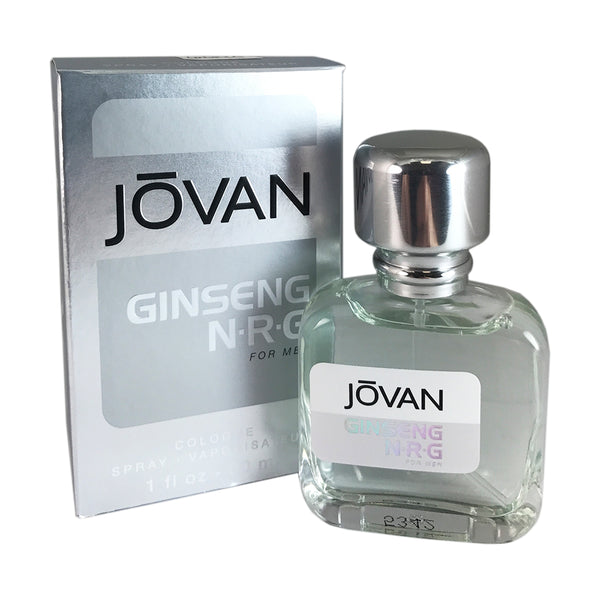 Jovan Ginseng N.R.G For Men By Coty 1 oz Eau De Cologne Spray