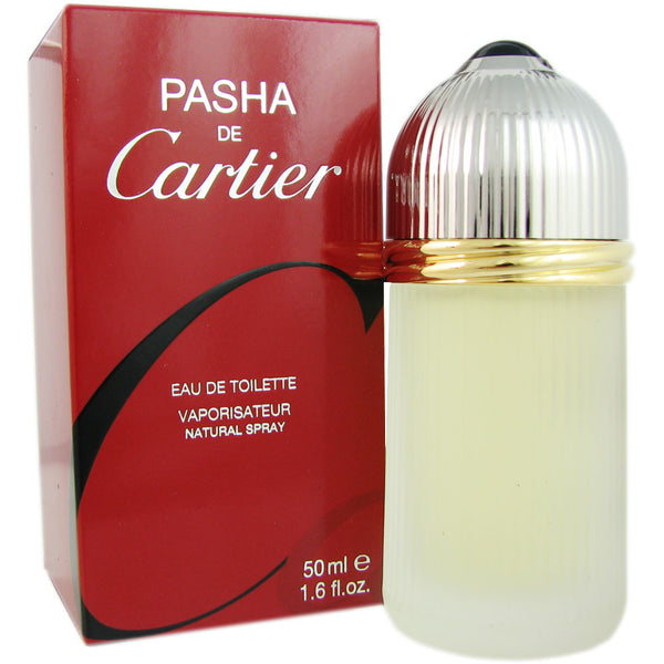 Pasha de Cartier for Men by Cartier 1.6 oz Eau de Toilette Spray